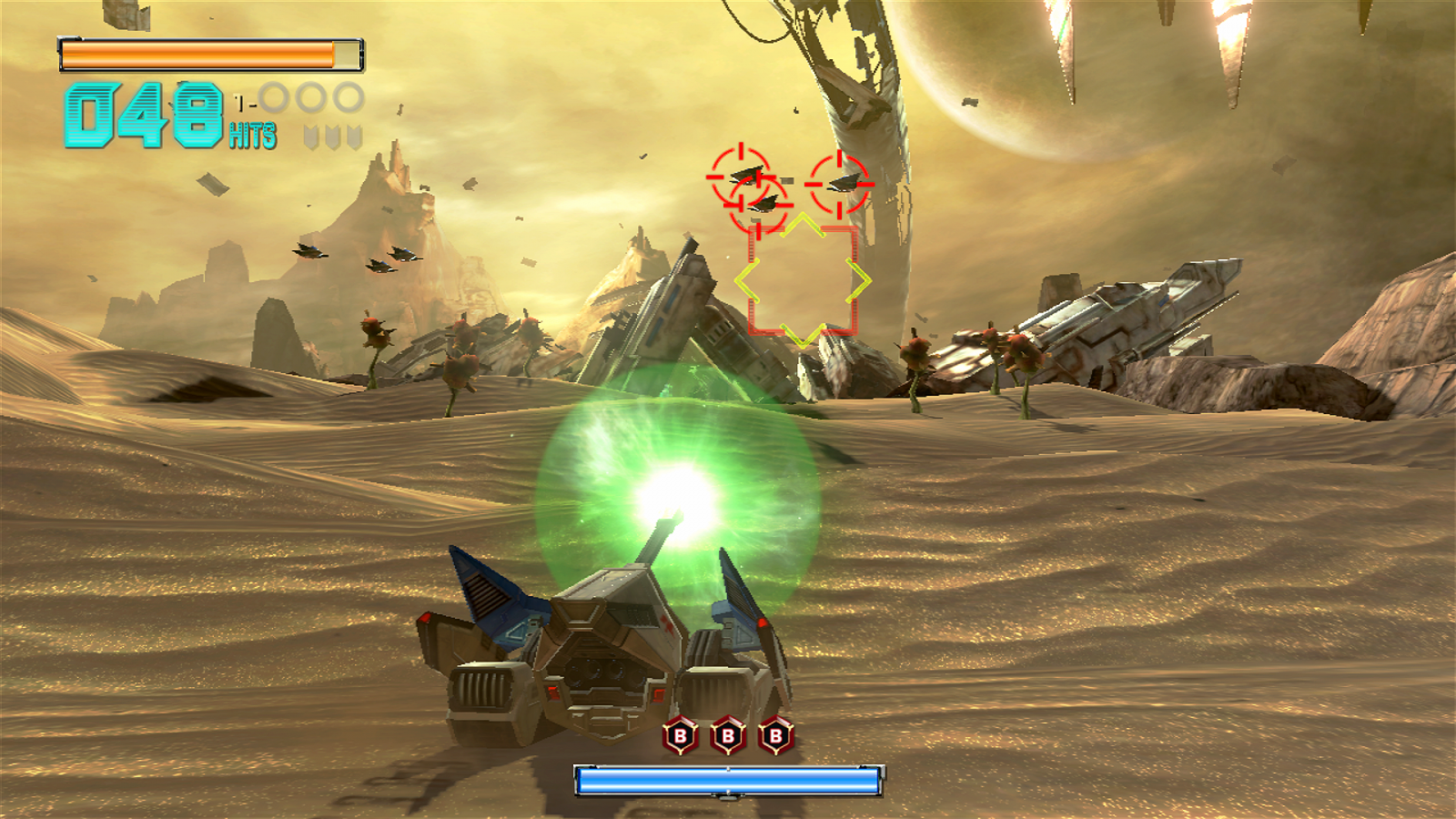 Targeting on Titania